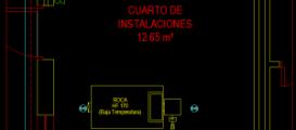 Instalación de gas natural para sala de calderas en pabellón para noviciado